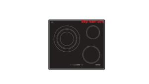 Bếp điện 3 vùng nấu 60cm HC-R603A