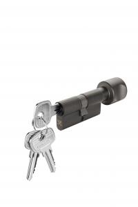 Ruột khóa cửa phòng màu Graphite Black