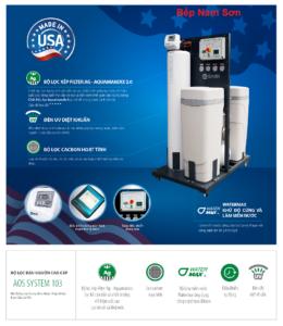 Lọc Nước Đầu Nguồn Cao Cấp AOS System 103