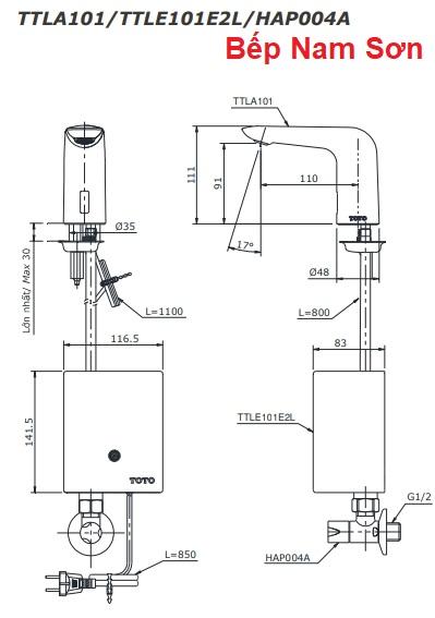 Vòi cảm ứng nước lạnh